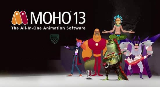 Moho Pro 13(二维动画制作软件)